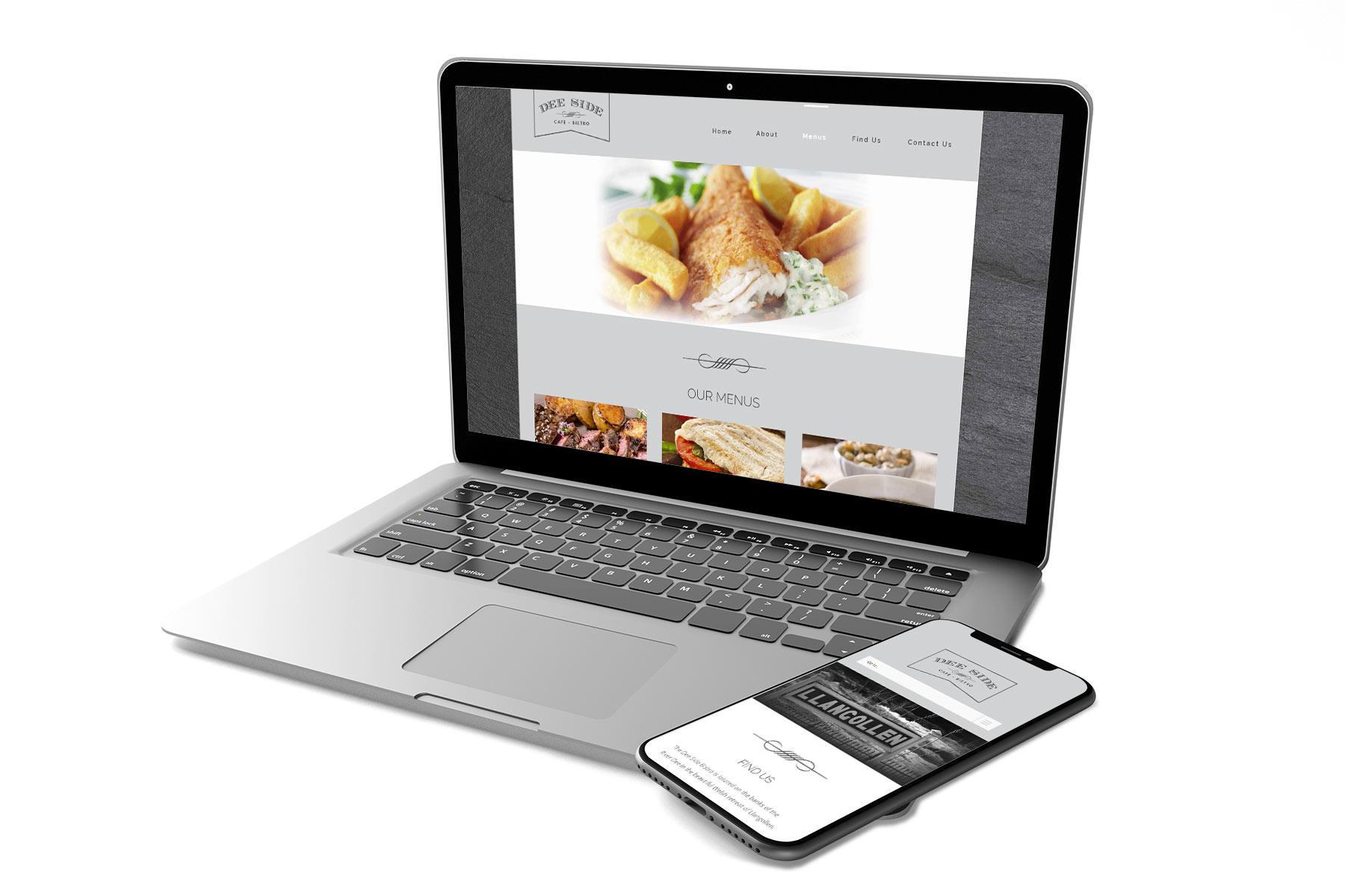 Restaurant Web Design for Deeside Bistro Website Design Agency